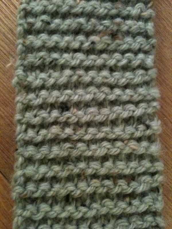 Knitting Seed Stitch Variations : the not   moss stitch scarf {olivia-marie}